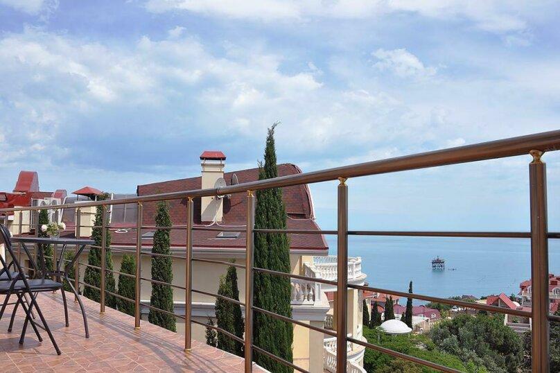 Двухкомнатный номер с балконом, Лименская, 5, Кацивели - Фотография 2