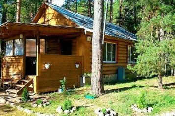 Сдаю благоустроенный, частный  дом на Селигере в самой турбазе, 97 кв.м. на 10 человек, 3 спальни, турбаза Чайка, Осташков - Фотография 1