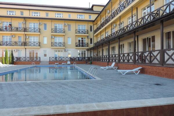 1-комн. квартира, 22 кв.м. на 4 человека, Сигнальная улица, 30Ас8, Черноморское - Фотография 1
