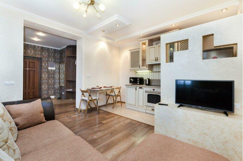 1-комн. квартира, 46 кв.м. на 4 человека, Мельничная улица, 83к3, Тюмень - Фотография 8