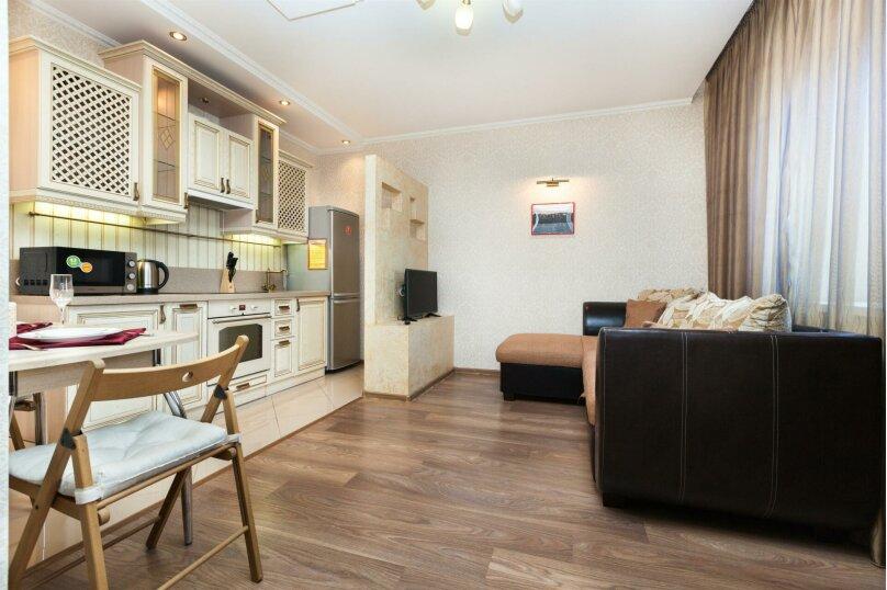 1-комн. квартира, 46 кв.м. на 4 человека, Мельничная улица, 83к3, Тюмень - Фотография 13
