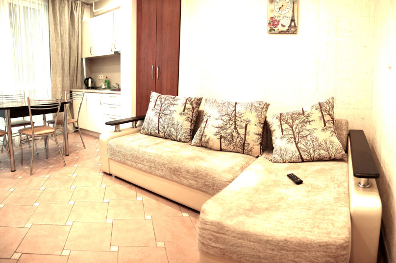 2-комн. квартира, 40 кв.м. на 5 человек, переулок Богдана Хмельницкого, 10, Адлер - Фотография 8