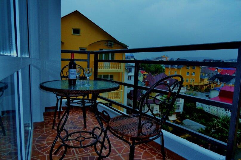 2-комн. квартира, 40 кв.м. на 5 человек, переулок Богдана Хмельницкого, 10, Адлер - Фотография 10