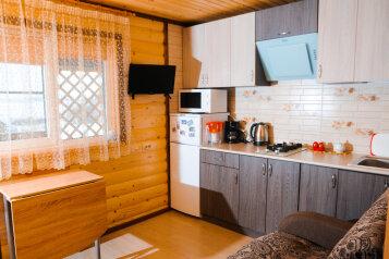 Трехместный коттедж, 24 кв.м. на 3 человека, 1 спальня, Центральная, село Токкарлахти, Сортавала - Фотография 1