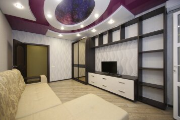 2-комн. квартира, 60 кв.м. на 4 человека, улица Лермонтова, 19А, Белгород - Фотография 3