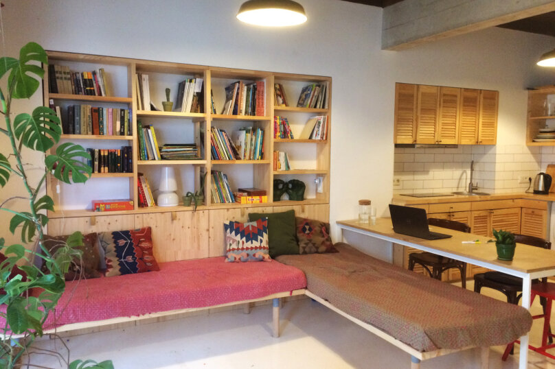 Дом в Мисхоре, две 1-ком. студии, улица Водовозовых, 18 на 2 комнаты - Фотография 12