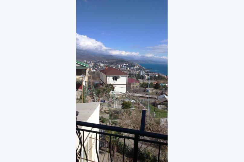 3-х местный номер с видом, 18 кв.м. на 4 человека, 1 спальня, улица Сергеева-Ценского, 6, Алушта - Фотография 4