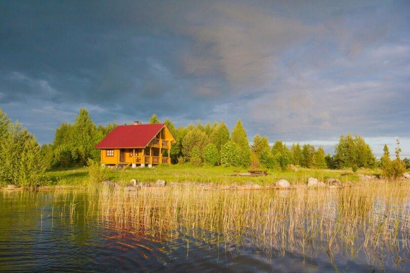 Гостевой дом, 70 кв.м. на 6 человек, 3 спальни, Заонежье, берег Онежского озера около о.Кижи, б/н, Медвежьегорск - Фотография 10