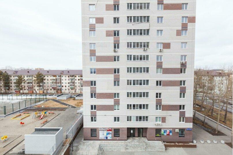 1-комн. квартира, 35 кв.м. на 3 человека, проезд Геологоразведчиков, 44А, Тюмень - Фотография 10
