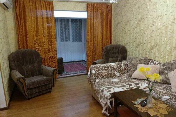 2-комн. квартира, 48 кв.м. на 7 человек, улица Лазарева, 56, Лазаревское - Фотография 1