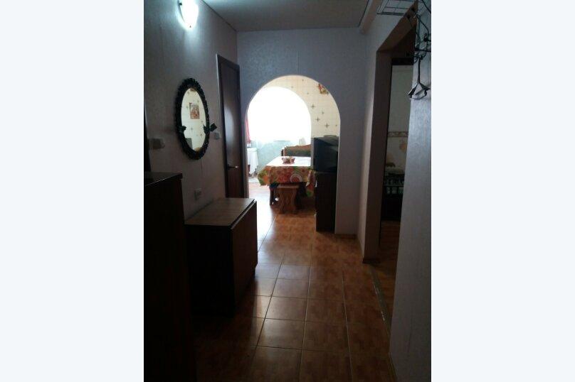 1-комн. квартира, 45 кв.м. на 6 человек, улица Микрорайон №3, 4, Ольгинка - Фотография 2