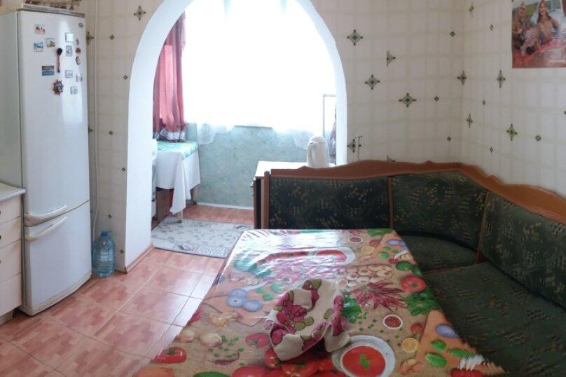 1-комн. квартира, 45 кв.м. на 6 человек, улица Микрорайон №3, 4, Ольгинка - Фотография 7