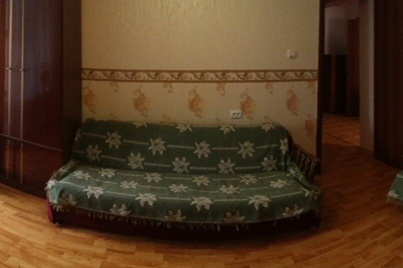 1-комн. квартира, 45 кв.м. на 6 человек, улица Микрорайон №3, 4, Ольгинка - Фотография 9