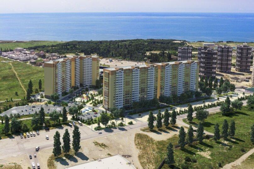 1-комн. квартира, 16 кв.м. на 2 человека, проспект Дзержинского, 238, Новороссийск - Фотография 2