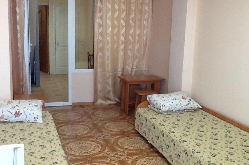 Коттедж в Крыму 500М от моря. Шикарный вид с балкона. Корпус 2, Виноградная улица, 8В на 4 комнаты - Фотография 12