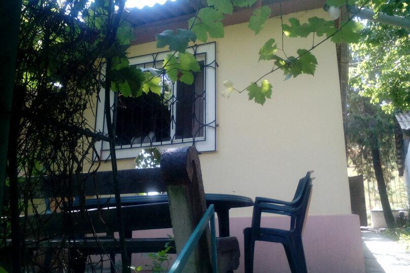 Дом на  3 человек площадью 34 кв.м .Сад!, 34 кв.м. на 3 человека, 1 спальня, улица Ленина, 28, Феодосия - Фотография 5