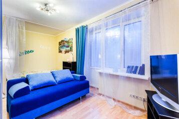 1-комн. квартира, 30 кв.м. на 4 человека, Стрельбищенский переулок, 23, Москва - Фотография 1
