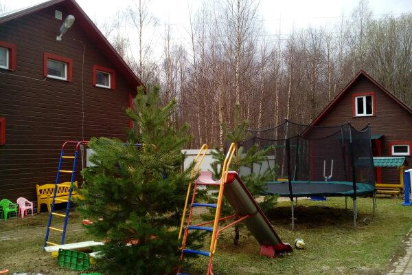 Дом с баней,бильярдом и детской площадкой, 150 кв.м. на 15 человек, 4 спальни, п. Неприе, 51, Осташков - Фотография 1