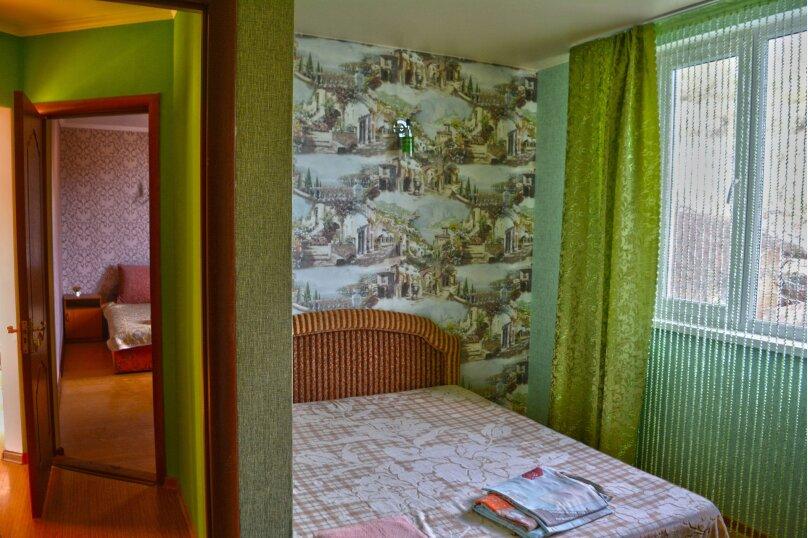 Двухкомнатный номер с балконом с видом на море на 4-6 человек на 6 человек, улица Голицына, 12, Новый Свет, Судак - Фотография 11