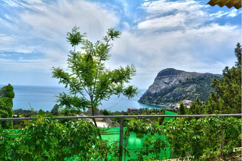 Двухкомнатный номер с балконом с видом на море на 4-6 человек на 6 человек, улица Голицына, 12, Новый Свет, Судак - Фотография 13