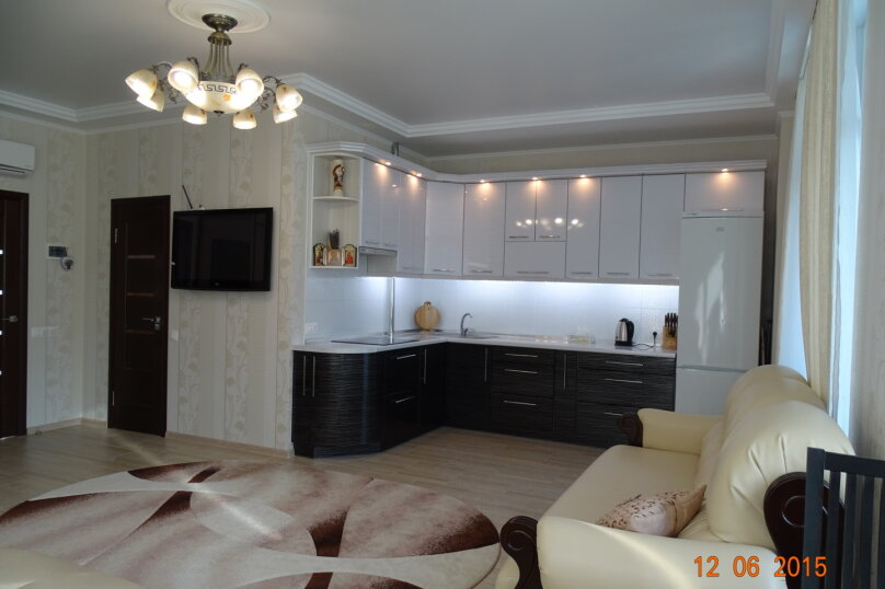 1-комн. квартира, 40 кв.м. на 4 человека, Севастопольское шоссе, 52Х, Гаспра - Фотография 2
