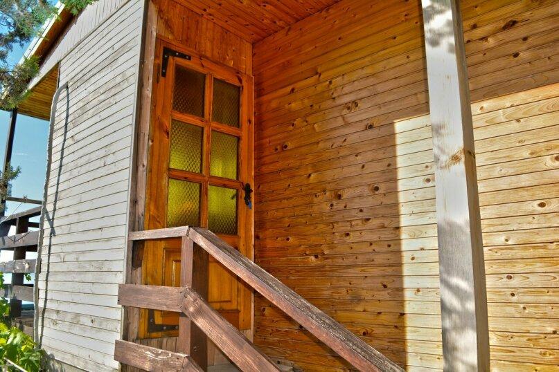 Двухуровневый деревянный домик со всеми удобствами, 13 кв.м. на 2 человека, улица Голицына, 12, Новый Свет, Судак - Фотография 5