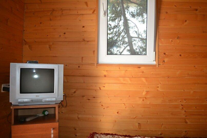 Двухуровневый деревянный домик со всеми удобствами, 13 кв.м. на 2 человека, улица Голицына, 12, Новый Свет, Судак - Фотография 8