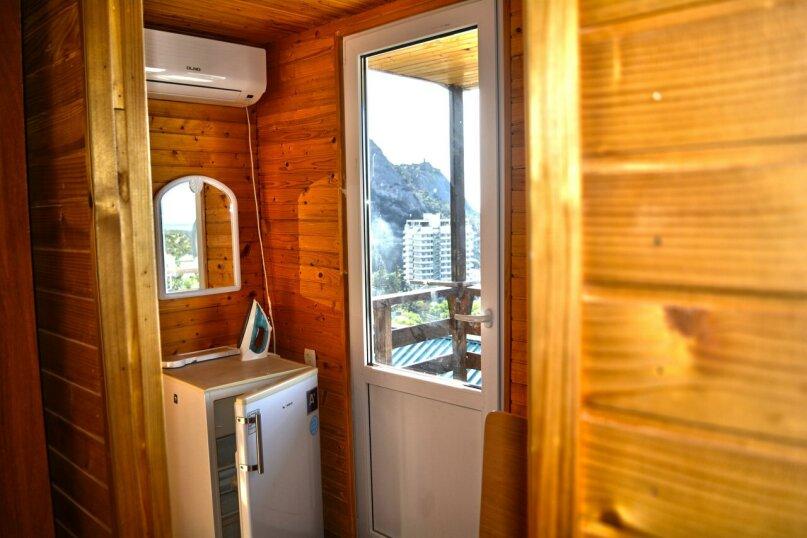 Двухуровневый деревянный домик со всеми удобствами, 13 кв.м. на 2 человека, улица Голицына, 12, Новый Свет, Судак - Фотография 9