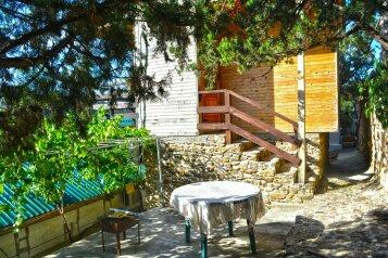Двухуровневый деревянный домик со всеми удобствами, 13 кв.м. на 2 человека, улица Голицына, Новый Свет, Судак - Фотография 3