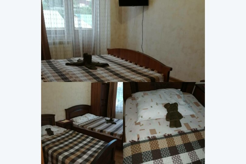 3-х местный номер с раздельными кроватями и балконом, Фермерский переулок, 8А, Адлер - Фотография 3