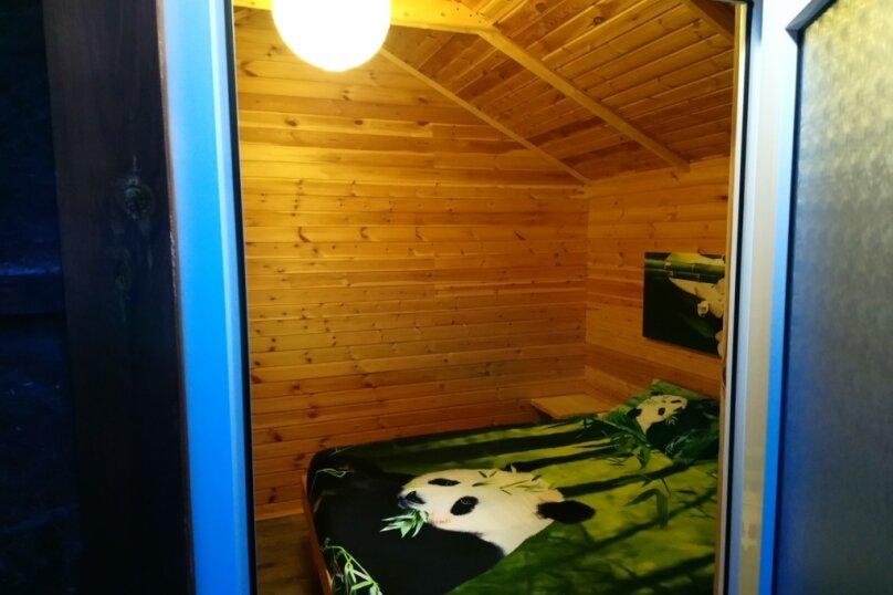 Летний домик на берегу моря, 12 кв.м. на 2 человека, 1 спальня, улица Герцена, 25, Геленджик - Фотография 6