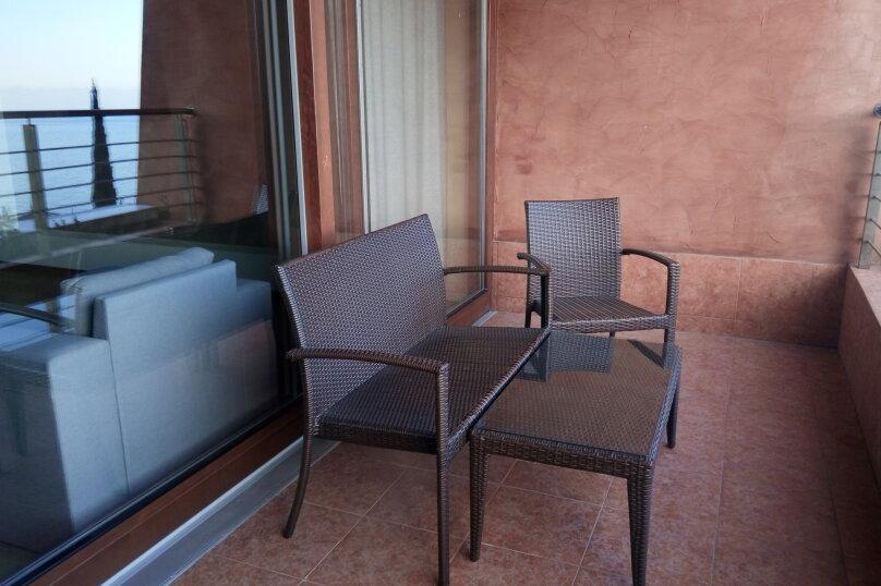 2-комн. квартира, 88 кв.м. на 4 человека, улица Строителей, 3, Гурзуф - Фотография 6