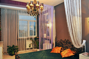1-комн. квартира, 50 кв.м. на 4 человека, улица Малюгиной, 220, Ростов-на-Дону - Фотография 1