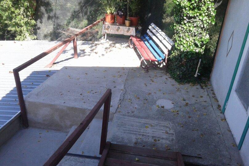 Гостевой домик  у моря Ч/С, 46 кв.м. на 4 человека, 2 спальни, Южнобережное шоссе, 36, Алупка - Фотография 12