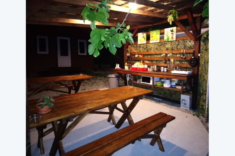 Двухуровневый маленький деревянный домик на берегу моря., 15 кв.м. на 4 человека, 1 спальня, улица Герцена, 25, Геленджик - Фотография 4