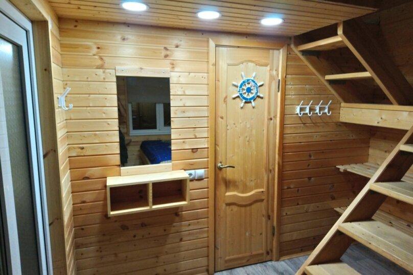 Двухуровневый маленький деревянный домик на берегу моря., 15 кв.м. на 4 человека, 1 спальня, улица Герцена, 25, Геленджик - Фотография 5