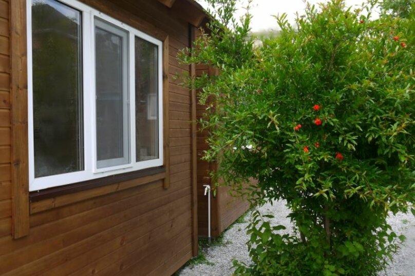 Двухуровневый маленький деревянный домик на берегу моря., 15 кв.м. на 4 человека, 1 спальня, улица Герцена, 25, Геленджик - Фотография 14
