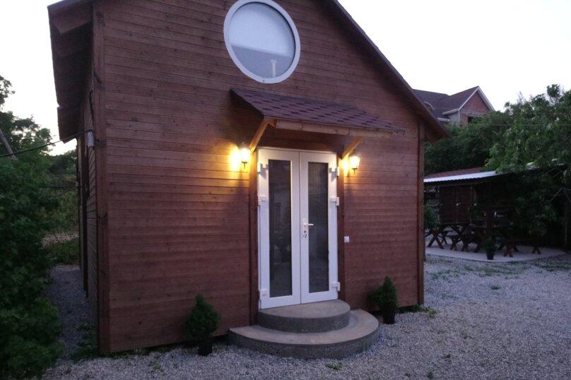 Двухуровневый маленький деревянный домик на берегу моря., 15 кв.м. на 4 человека, 1 спальня, улица Герцена, 25, Геленджик - Фотография 15