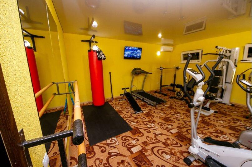 Дом для отдыха с 2 бассейнами , 60 кв.м. на 8 человек, 1 спальня, улица Островского, 56, Геленджик - Фотография 11