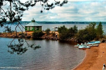 Дом сдается  на Селигере на берегу озера, 55 кв.м. на 6 человек, 2 спальни, Лесная, Осташков - Фотография 4