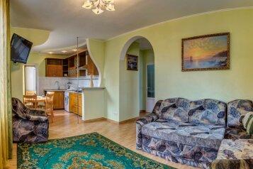 Апартаменты с террасой:  Квартира, 6-местный (4 основных + 2 доп), 3-комнатный, Апартаменты, Данченко, 4 на 2 номера - Фотография 4