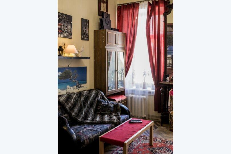 2-комн. квартира, 67 кв.м. на 5 человек, улица Восстания, 40, Санкт-Петербург - Фотография 2