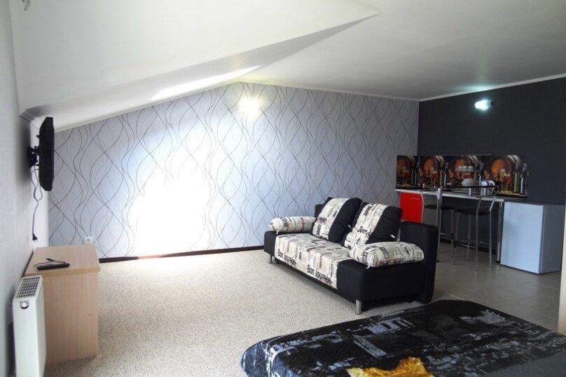 Номер люкс - студио с кухонным уголком, улица Шереметьева, 4, Геленджик - Фотография 7