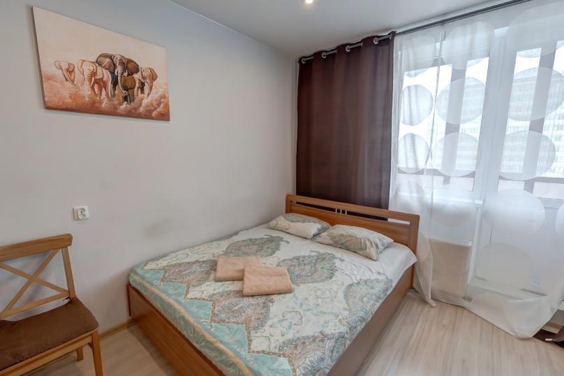 1-комн. квартира, 28 кв.м. на 3 человека, Охтинская аллея, 14, Санкт-Петербург - Фотография 5