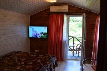 Залесное. Дом с комфортными комнатами, с.Залесное, Советская улица на 3 комнаты - Фотография 1