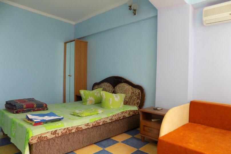 1-но комн номер в 10 метрах от моря, 26 кв.м. на 3 человека, 1 спальня, Ленина, 35-б, Алупка - Фотография 1