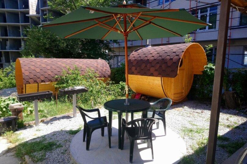 Летний домик на берегу моря, 12 кв.м. на 2 человека, 1 спальня, улица Герцена, 25, Геленджик - Фотография 12