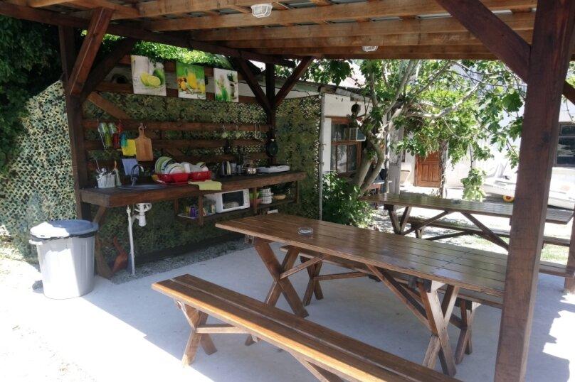 Летний домик на берегу моря, 12 кв.м. на 2 человека, 1 спальня, улица Герцена, 25, Геленджик - Фотография 14