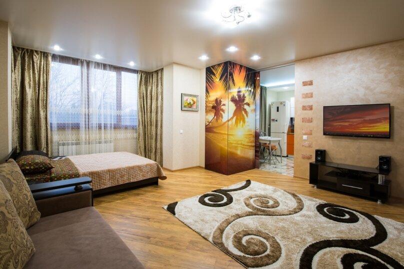 1-комн. квартира, 55 кв.м. на 6 человек, Карасунская улица, 184, Краснодар - Фотография 1