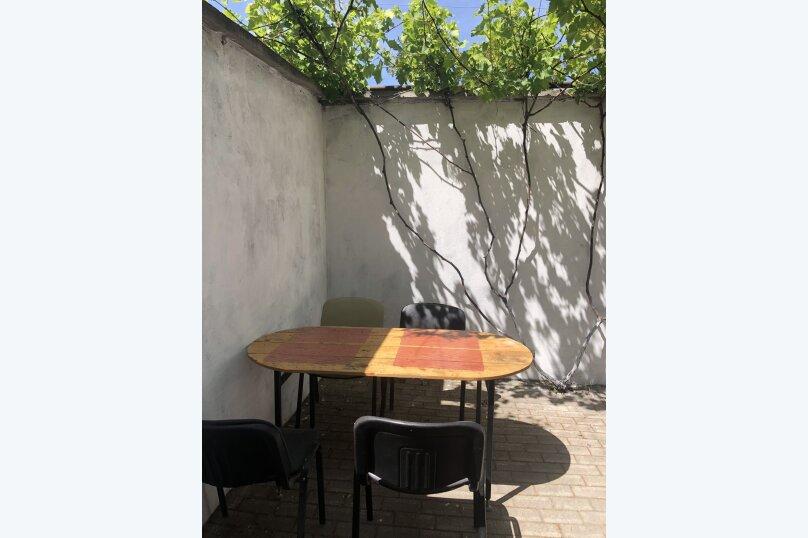 Коттедж 1, 50 кв.м. на 6 человек, 1 спальня, ул.Луговая, 12-а, Черноморское - Фотография 29